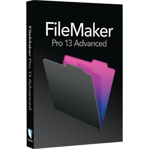 Vollversion FileMaker Professional Advanced / v13.0 / Win/Mac / deutsch / CD
