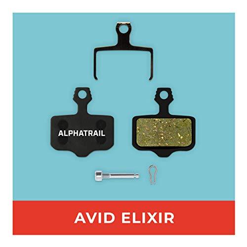 Avid Elixir Bremsbeläge 1 3 5 7 9 R Carbon X7 CR 10 XO VIA GT & SRAM XX XO für Fahrrad Scheibenbremse I Hohe Bremsleistung I Langlebiger & Passgenauer Bremsbelag I Organischer Belag