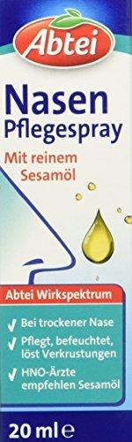 Abtei Nasenpflegespray, 20 ml (Trockene Nasenschleimhäute)