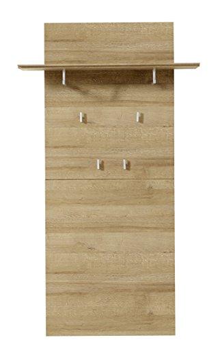Stella trading dorr543040 appendiabiti, legno, marrone, 30 x 80 x 145 cm
