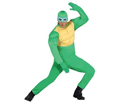 Ninja Schildkröte - Kostüm für Herren Gr. M/L, Größe:L