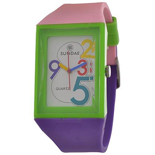 Sundae U318FBPKDW Fusion Analog Watch For Girls