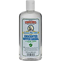 Thayers Alochol Free Unscented Witch Hazel Toner with Aloe - 12 fl. oz. (355 ml)
