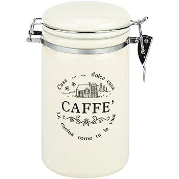 Premier Housewares Vintage Home Quadratische Kaffeedose, groß ...