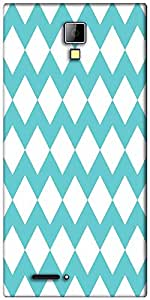 Snoogg waves vs wave 2570 Designer Protective Back Case Cover For Micromax Canvas Express A99