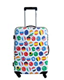Warenhandel König, Valise Multicolore Flags of The World L