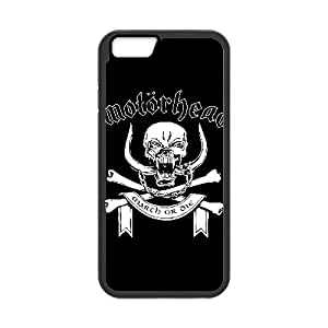 Motorhead Coque iPhone 6 4.7 Coque pouces Cas de téléphone portable noir V5U5HUDI Effacer Phone Case Générique