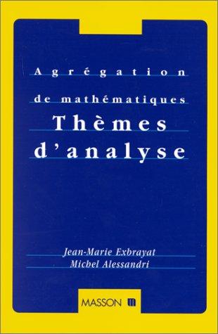 Thèmes d'analyse par Jean-Marie Exbrayat