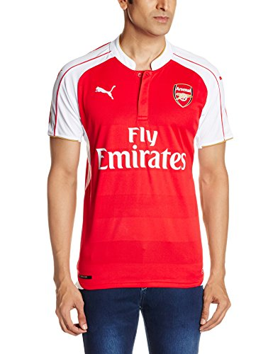 Puma AFC Home Replica with Sponsor Camiseta, Hombre, Rojo, M