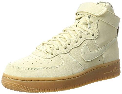 Nike Damen Air Force 1 Hi Se Gymnastikschuhe, Beige (Muslin/Muslin Gum/Med Brown/Ivory), 38.5 EU