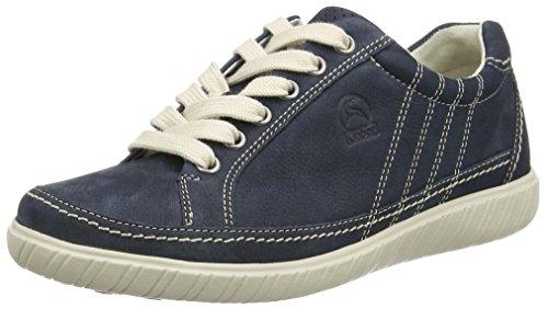 Gabor Damen Comfort Sneakers Blau (46 blue)