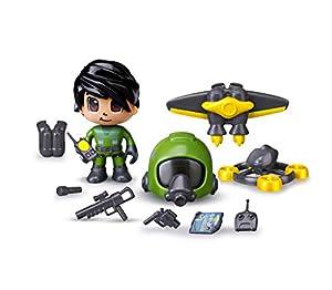 Pinypon Action- Jet Pack, 1 Figurita con Accesorios, Multicolor (Famosa 700015051)