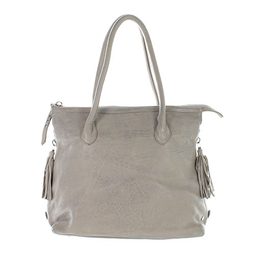 Another Bag , Sac à main pour femme beige taupe