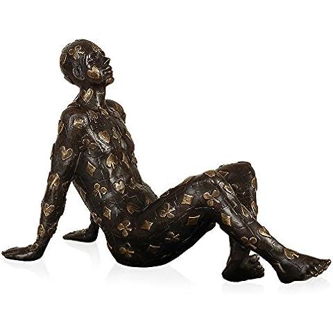 Arte dal Mondo SA326 Destino Scultura, Stile Moderno, Bronzo