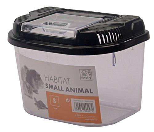 Transportbox Fütterungsbox für kleinere Tierarten - HABITAT - 18 x 12 x 13 cm