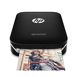 HP Sprocket-Impresora fotográfica portátil (impresión sin Tinta, Bluetooth, 5x 7.6cm Impresiones) Color Negro (B01LBWELHI) | Amazon Products