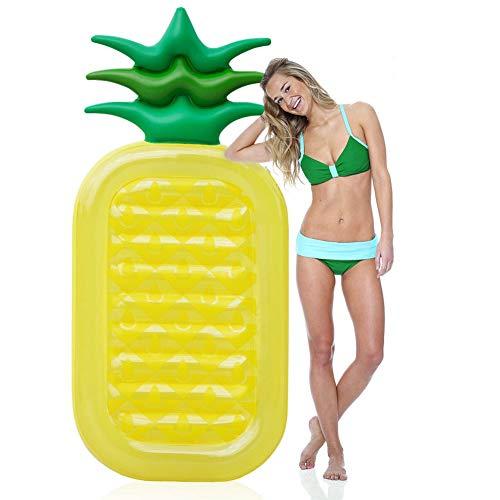 KFRSQ Whirlpool Swimmingpool Aufblasbar Pool Outdoor Aufblasbarer Schwimmer des Ananaspools, der Poolananas Sommers Im Freien, Beiläufige Spielwaren PVC-übergroßEn Partei