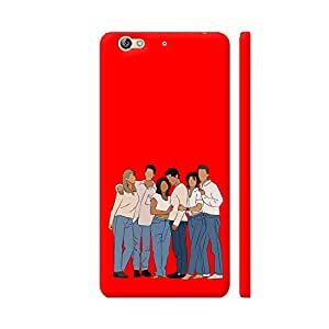 Colorpur Friends Printed Back Case Cover for Gionee S6