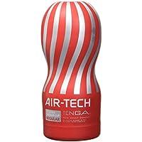 Tenga Air Tech Regular, Funda Masturbadora, 6.9 × 15.5 x 6.9 cm, Color Rojo/Gris - 235 gr