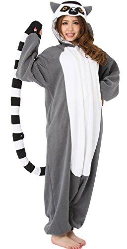 DELEY-Unisexo-Adulto-Caliente-Animal-Kigurumi-Pijamas-Cosplay-Disfraz-Homewear-Mamelucos-Ropa-De-Dormir