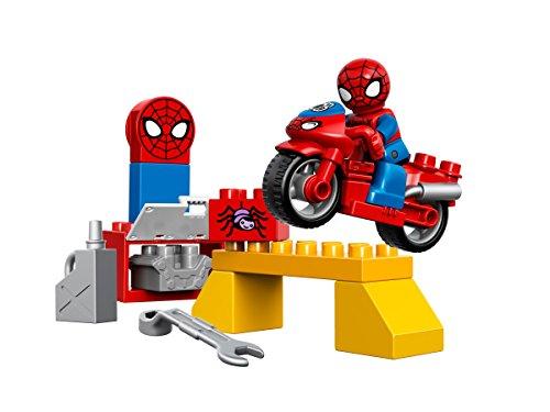 LEGO Spider-Man - El taller y la moto araña (10607)