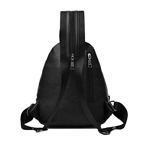 La Signora Borse Moda Borsa A Tracolla Schoolbags Zaino Selvaggio Grey