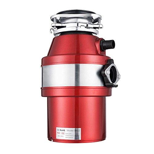 3/4HP residuos de cocina comida cesiones 1,4L capacidad molinillo molinillo triturador de basura de residuos de residuos de alimentos molinillo triturador de desperdicios de comida