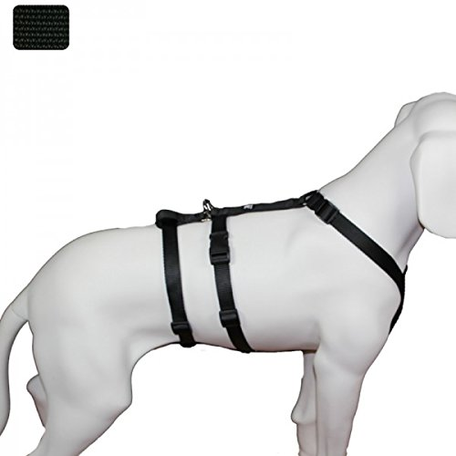 Hoffmann Das Original - NoExit Hundegeschirr  - 100% ausbruchsicher für Angsthunde, Unifarben...