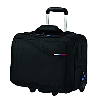 American Tourister At Business III Rolling Tote, Bagage - Noir