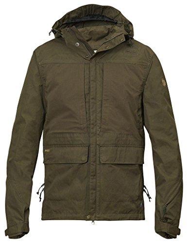 Fjällräven Herren Lappland Hybrid Jacket Softshelljacken Dark Olive