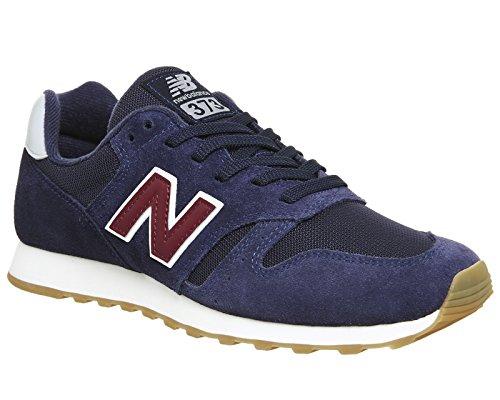 New Balance Herren 373 Sneaker, Rot marineblau / rot