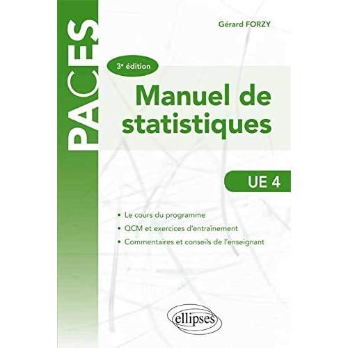 Manuel de statistiques UE 4