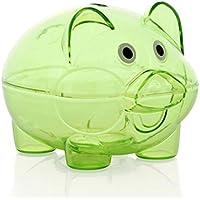 HKFV Bank Saving Geld Essen Box FaceBank für Kinder Geschenke Menschen können Geld sparen Sparschwein Transparentes Schwein Sparschwein speichern (A) preisvergleich bei kinderzimmerdekopreise.eu