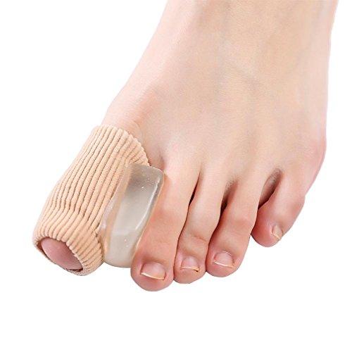 HRRH Toe Separator Komfortable Gel Material Hallux Valgus Corrector Bunion Corrector Schiene Große Toe Toe Distanzscheiben für Männer und Frauen, B (Gel Separator Pedifix Toe)