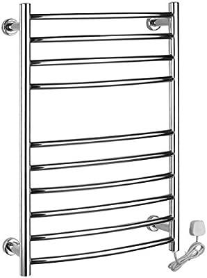Montado en la pared de acero inoxidable eléctrico toallero / radiador Baño / Calentador de toallas 9003