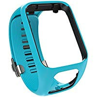 TomTom - Bracelet pour Montre TomTom GOLFER 2 - Taille Large - Bleu