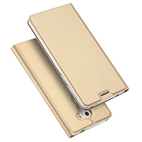 Preisvergleich Produktbild Huawei Honor 6X hülle, KuGi Huawei Honor 6X hülle / Fall - BW Stil Hochwertige ultradünne PU-Standplatz hülle für Huawei Honor 6X smartphone.(Blau)