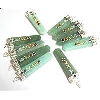 Exclusive Set von zehn grün Aventurin Quarz Chakra Anhänger Wellness Fashion Jewelry Zubehör Herren Frauen Geschenk... preisvergleich bei billige-tabletten.eu