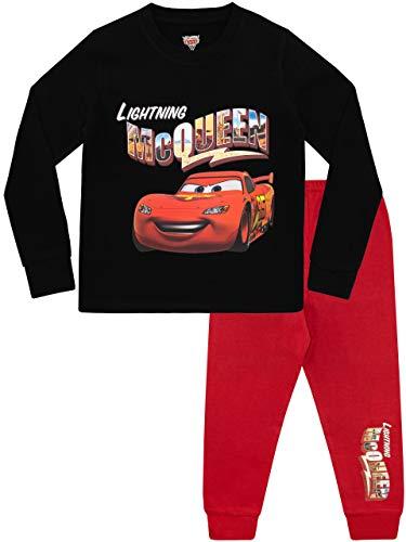 Disney pigiama a maniche lunghe per ragazzi cars rosso 7-8 anni