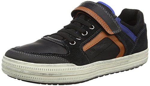 geox-boys-jr-elvis-d-low-top-sneakers-schwarz-black-orangec0038-38-uk