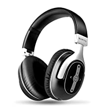 Earto Wireless Bluetooth Over Ear Headphones, Headsets Stereo Lightweight Headphones with Foldable Soft Memory-Protein Earmuffs, Built-in Microphone and Wired Mode for Cell Phones/PC/TV