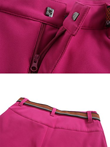 d4b9df1a42681 Softshell Trousers Womens Winter Fleece Lined Trousers Waterproof Hiking  Pants Outdoor Camping Trouser,style 2