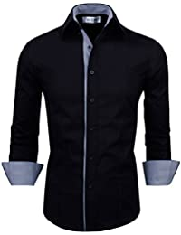 Tom's Ware Chemise-Interieur raye a manches longues-Hommes
