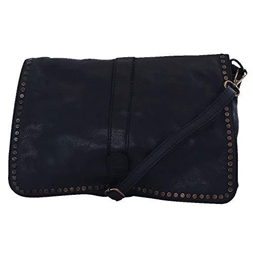 Chapeau-tendance - Sac a main cuir bandoulière noir vintage - - Femme 8c9420bfcac