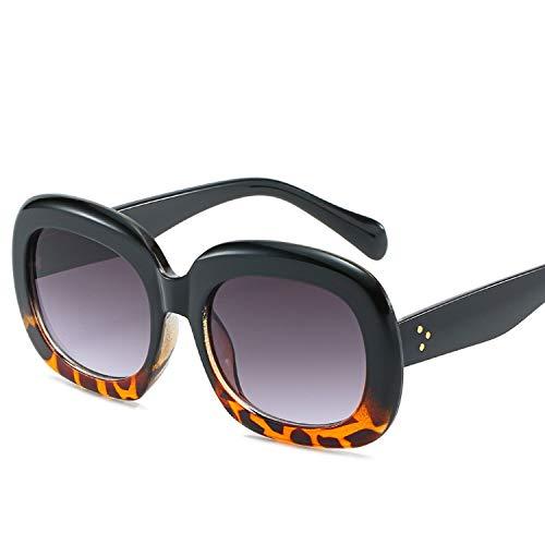 FIRM-CASE Quadrat-Sonnenbrille-Männer Luxus Paar Lady Star Wohnung Hot Frauen Sun-Glas Super Star Coole Brillen, 5
