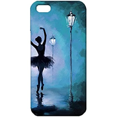 Iphone 5/5s/Se Particular Exquisite Style Popular Exquisite Ballet Dancers Cover Case for Iphone 5/5s/Se Interesting Colorful Attractive Ballet Dancers Series Phone Case