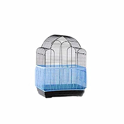 Ueetek Cage Cover Protection Mesh for Small Birds, Mesh Protection for Bird Cages (Blue) 2