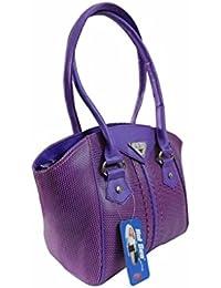 Adiari Fashion Durable Purple Coloured Handbag For Women