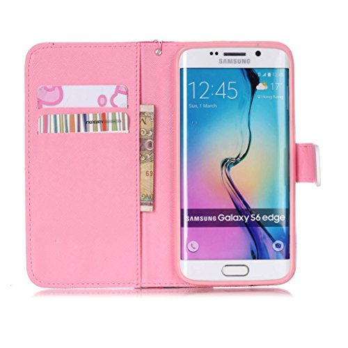 Trumpshop Smartphone Case Coque Housse Etui de Protection pour Samsung Galaxy S6 + This iPhone is Locked + Smartphonecoque Portefeuille PU Cuir Anti-Choc I love you