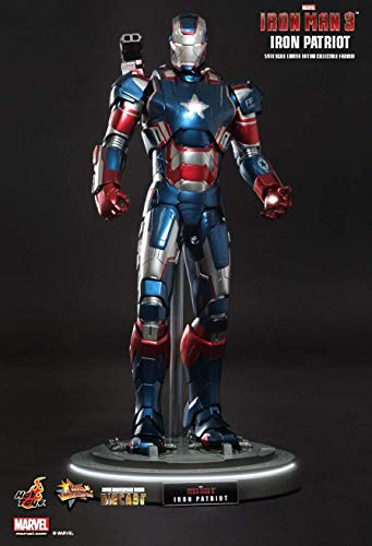 Hot Toys MMS195D01 - Iron Man 3 - Iron Patriot 1/6 Official Version